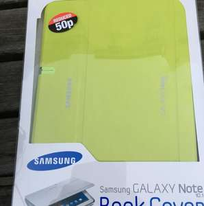 Genuine Samsung Galaxy Note 10.1 book cover 50p - half price @ Poundland
