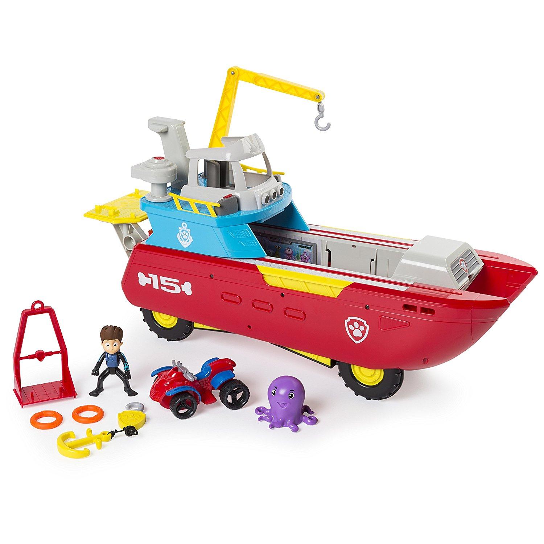 Edit 9/11 - now cheaper £50.99 - Paw Patrol Sea Patrol - Sea Patroller £51.98 Del with code @ Toys R Us
