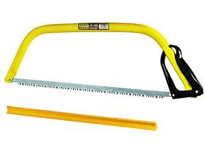 Stanley 1-15-368 610mm Bow Saw £8.99  (Prime) / £13.74 (non Prime) at Amazon