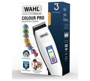 Wahl 9155-2417X Colour Pro Styler Hair Clippers (1-8 Graded) + Scissors, comb etc  £11.69 w/code @ Argos