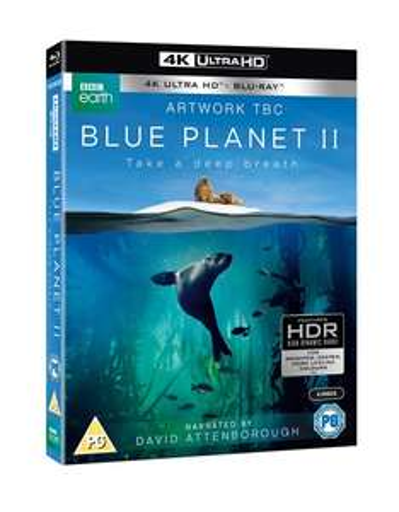 [Pre-Order] The Blue Planet II (4K Ultra HD + Blu-ray) - £25.19 - Zoom