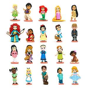 Disney Animators' Collection Deluxe Figurines, Set of 20 was £49.99 now £30 instore / online @ Disney Store - other sets same price + 30% Off Selected Beauty & the Beast (+ £3.95 Del for orders under £50)