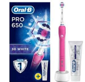 1/2 Price Oral B at Superdrug (Electric toothbrushes & brush heads)