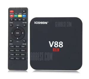 SCISHION V88 TV Box Rockchip 3229 Quad Core 1GB RAM £16.04 Delivered with code @ Gearbest
