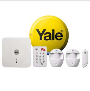 YALE WIRELESS SMART HOME ALARM KIT SR-320 £240 @ B&Q