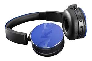 AKG Y50BT Portable Foldable On-Ear Rechargeable Bluetooth Headphones - Blue £105 @ Amazon