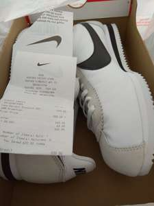 Pair of classic Nike Cortez trainers £20 instore at Ashford Nike Outlet in-store