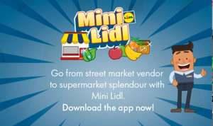 Mini Lidl game app (android and IOS) by Lidl