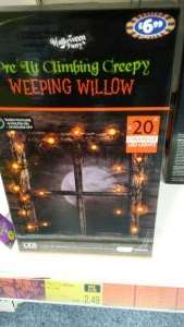 Halloween stuff reduced £2.49 in store at B&M