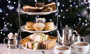 Traditional or Festive Afternoon Tea for Two at Patisserie Valerie - Nationwide from £9.50pp £19 (Usually £25) @ Groupon