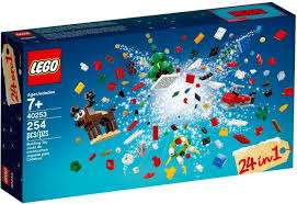 Free Lego 40253 24-In-1 Christmas Builds Set with purchases over £60 @ Lego Shop Online or In Store
