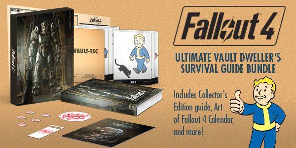 Fallout 4 Ultimate Vault Dweller Survival Guide £21.00 prime / £23.99 non prime @ Amazon