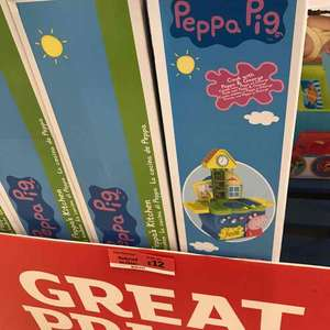 Peppa Pig Kitchen Reduced to Clear £12 @ Sainsbury's - Braehead