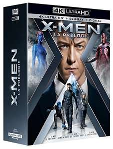 X-Men 4K trilogy - approx. £30 delivered from Amazon.fr