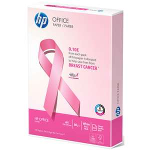 HP Office A4 Multipurpose Paper (10p donates to Breast Cancer) £3 / £6.48 delivered @ Staples