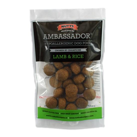 Free Sample Pouch of Ambassador Lamb & Rice Dog Food