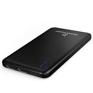 Power Theory Ultra Slim 10000mAh Portable Charger - £21.95 - Sold by Gordios and Fulfilled by Amazon