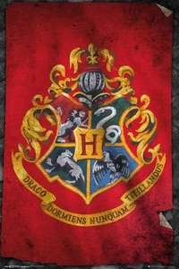 Hogwarts Flag Poster (Harry Potter)  61 x 91.5 cm £2.32 delivered @ EMP (Plus other Harry Potter items)