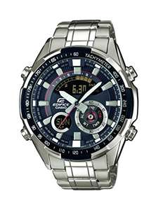 Casio Edifice Men's Analogue/Digital Quartz Watch with Stainless Steel Bracelet – ERA-600D - £78.32 @ Amazon