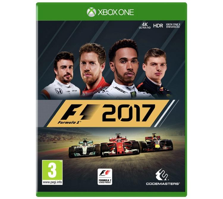 F1 2017 Xbox One £35.99 @ Argos