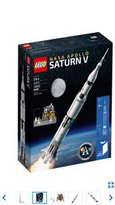 Lego NASA Apollo Saturn V £109 @ Lego Shop