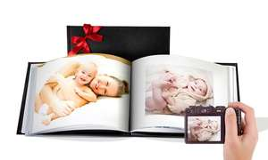 20-page A5 leather photobook £4.99 delivered + Poss 40 free prints @ Groupon