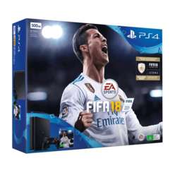 PS4 SLIM 500GB FIFA 18 with Doom + Dishonored 2 + Fallout 4 and NOW TV 2 Month Entertainment - £229.99 @ GAME