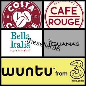 FREE Burrito at Las Iguanas + FREE Pizza or Pasta at Bella Italia + FREE burger at Café Rouge - Wuntu App
