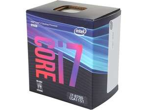 Intel Core I7-8700 4.6Ghz Turbo Six Core Coffee Lake CPU Processor £307.98 @ Ebuyer