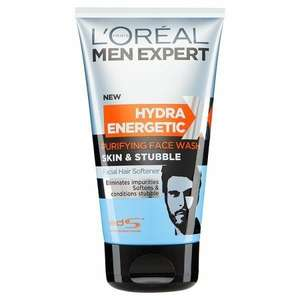L'Oreal Men Expert Skin & Stubble Face Wash 150ml £2.99 instore at Savers