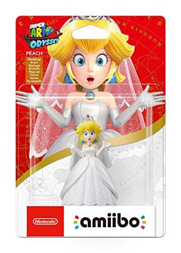 Super Mario Odyssey Bride Peach Amiibo back in stock £10.99 (Prime) / £12.98 (non Prime) at Amazon
