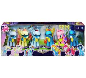 My Little Pony Wonderbolts 6in Collection Pack was £59.99 now £24.99 C+C @ Argos