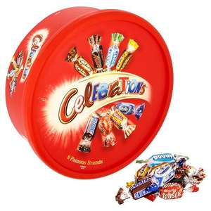 Celebrations  / Roses  / Heroes / Quality Street Tub + Sweet tubs (e.g Haribo) 2 for £7 from 1st November @ Tesco