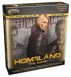 Homeland board game £6.29 Amazon  sold by BuySend.