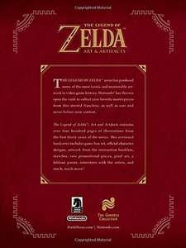 The Legend of Zelda: Art and Artifacts (Hardcover) £21 @ Amazon