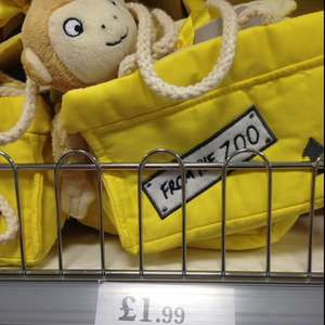 Dear Zoo monkey plush in a bag £1.99 in-store at Cannock A5 Home Bargains store