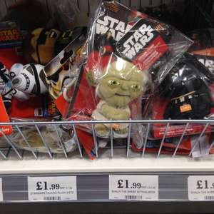 Star Wars talking plush keyring £1.99 in-store at Home Bargains