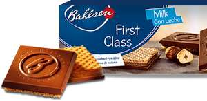 Bahlsen First Class Milk or Dark choc wafers 125g £1 Sainsburys and then !! 50p !! thru CheckoutSmart