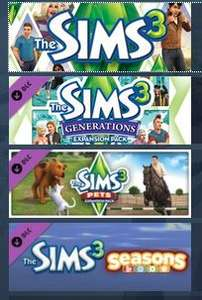 The Sims 3 Bundle £13.14 - Steam