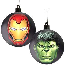 Officially Licensed Avengers Baubles (Pack of 4) - £1.49 - Game