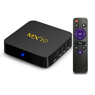 MX10 Android 7.1.2 RK3328 4GB DDR4 32GB eMMC 4K HDR TV BOX 802.1.1 b/g/n WIFI LAN VP9 HDMI USB3.0 - Black £38.38 Delivered @ LightInTheBox