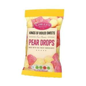 Crillys Various Bags of Sweets (  Pear Drops, Cough Drops, Rhubarb & Custard) 39p @ Home Bargains