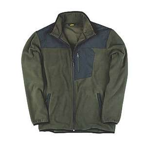 "Stock Clearance  SITE TEAK FLEECE JACKET OLIVE LARGE 44"" CHEST £12.99 Screwfix"