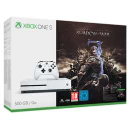 Hedge your bets for Black Friday- 30 day return on Xbox One S 500GB Shadow of War Bundle + Dishonored 2 + Doom + Fallout 4+ NowTV+ £4.60 in Reward points + 1% Quidco £229.99 at GAME