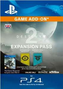 Destiny 2 Expansion Pass PS4 £25.64 with FB code / without code £26.99 @ CDKeys