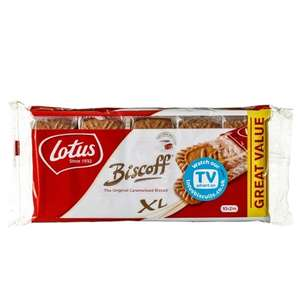 Lotus Biscoff Biscuits (2 x 10 pack) ONLY 89p @ B&M