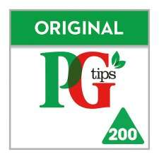 PG Tips box of 200 for £2.80 @ Tesco