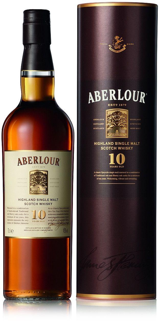 Aberlour 10yo Single Malt Whisky 70cl £20.20 @ Amazon