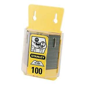 HEAVY DUTY STANLEY BLADES £9.99 @ Screwfix