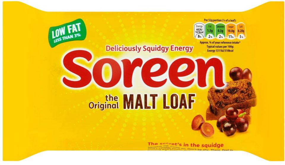 Soreen Fruity Malt Loaf (260g) Half Price was £1.20 now 60p @ Tesco